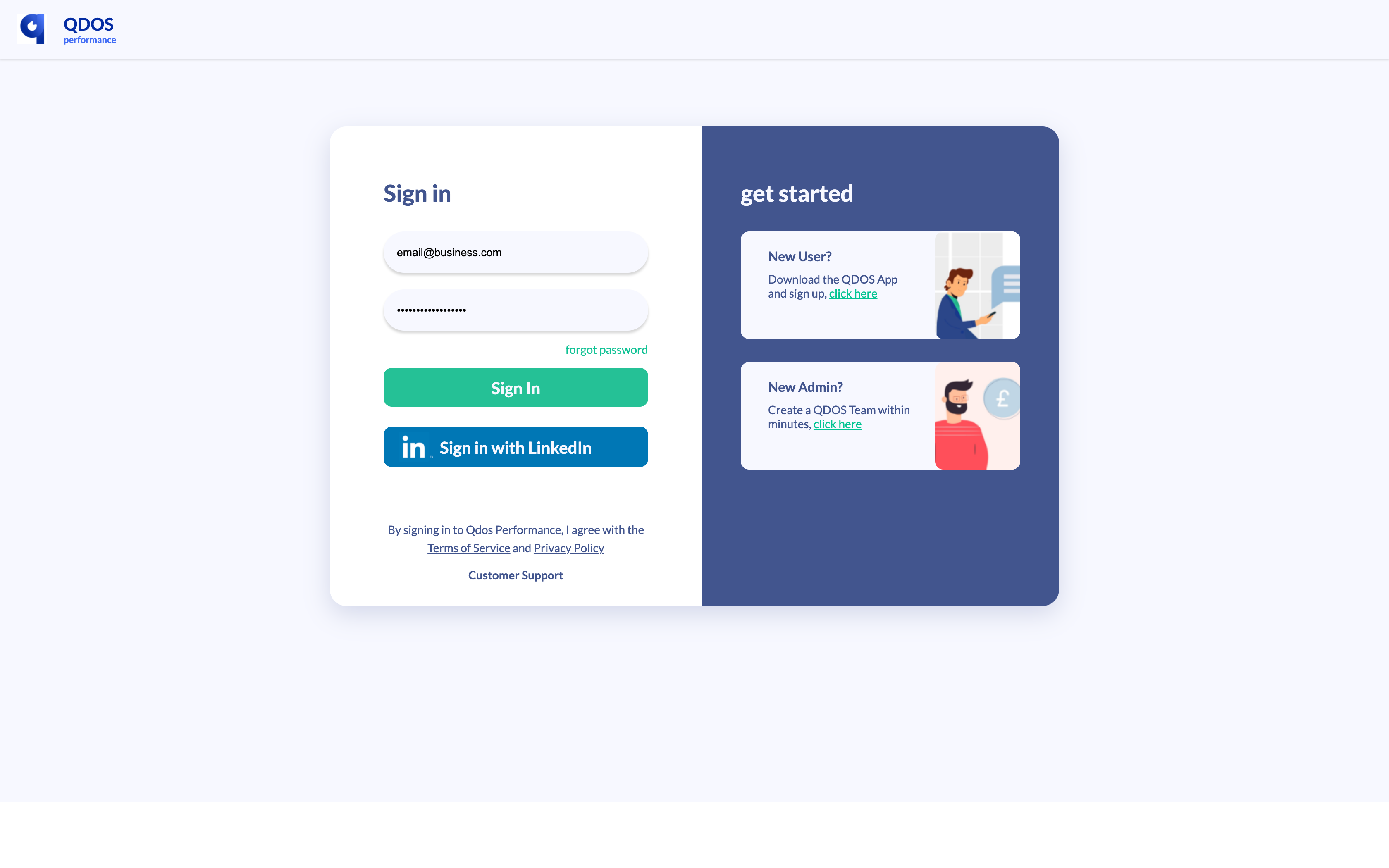 Sign up 5